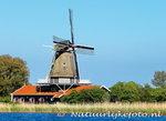 ansichtkaart molen de Leeuw / Leonide - Anna Paulowna, mill postcard, Mühle Postkarte