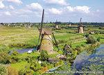 Molens van Kinderdijk, UNESCO Postkarte Windmühlen von Kinderdijk, UNESCO postcard Windmills from Kinderdijk