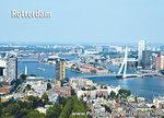 Ansichtkaart Rotterdam Skyline - Postkaart Rotterdam - Ansichtkaarten Rotterdam