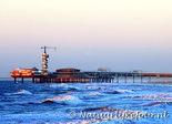 ansichtkaart pier van Scheveningen, Postcard Pier by Scheveningen, Postkarte Pier von Scheveningen