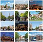 Kaartenset Amsterdam - Amsterdam postcard set , Amsterdam Postkarten set
