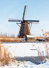 Unesco Ansichtkaart - molen van Kinderdijk, Unesco Postcard - Mill at Kinderdijk, Mühle von Kinderdijk