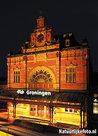 ansichtkaart Centraal Station Groningen, postcard Central Station Groningen, Postkarte Hauptbahnhof Groningen