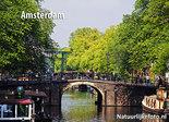 AnsichtkaartAmsterdamse gracht UNESCO WHS - Amsterdam postcard canal - postkarte Amsterdam Kanal