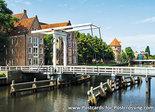 AnsichtkaartZwolle Pelserbrug, postcard Zwolle Pelser bridge, Postkarte Zwolle Pelser Brücke