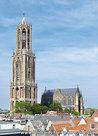 AnsichtkaartUtrecht Domtoren, postcard Utrecht Domtower, Postkarte Utrecht Domtoren