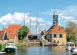 Ansichtkaart Hindeloopen, Postcard Hindeloopen, Postkarte Hindeloopen