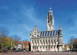 ansichtkaart stadhuis Middelburg