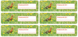 Postcard ID sticker Grutto
