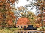 Herfstkaarten, ansichtkaart De Noordmolen - Ambt Delden, Postcard Watermill, PostkarteWassermühle