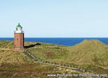 ansichtkaartvuurtoren Rotes Kliff Sylt, postcard lighthouse Rotes Kliff Sylt, postkarte leuchtturm Rotes Kliff Sylt