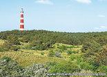 ansichtkaartvuurtoren Bornrif Ameland - postcard lighthouse Ameland - postkarte leuchtturm Ameland