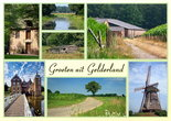 Ansichtkaart Gelderland, Postcard Gelderland, Postkarte Gelderland