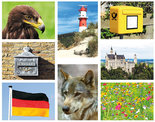 Kaartenset Duitsland - Postcard set Germany - Postkarten Set Deutschland