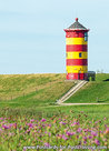 Ansichtkaart vuurtoren Pilsum, Lighthouse postcard Pilsum, Leuchtturm Postkarte Pilsum