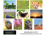 kaarten set 36 - ideaal voor Postcrossing