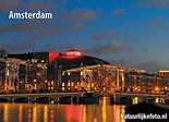 ansichtkaart Amsterdam Magere brug - Amsterdam postcardsSkinny bridge - Postkarten AmsterdamMagere brück