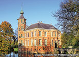 Herfstkaarten, ansichtkaart kasteel Bouvigne in Breda, postcardcastle Bouvigne in Breda, Postkarte Schloss Bouvigne in