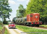 ansichtkaart-Diesel-elektrische locomotief NS 2459