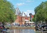 Ansichtkaartde Waag in Amsterdam, postcard de Waag Amsterdam, Postkarte de Waag Amsterdam