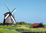ansichtkaart museum molen - Schermerhorn
