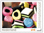 Postzegels voor Postcrossing - Engelse drop - Stamps for Postcrossing