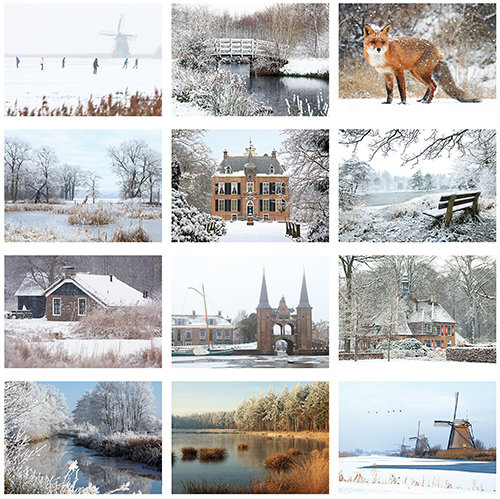 Winter kaartenset