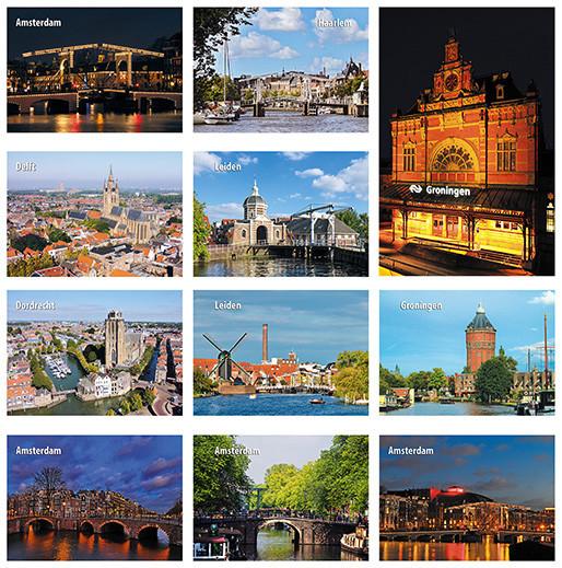 kaartenset steden