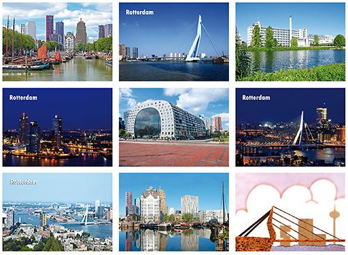Kaarten set Rotterdam