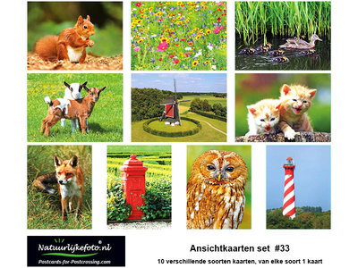Kaartenset , Postcard sets for sale, postkartensets