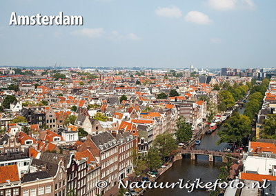 Ansichtkaart Prinsengracht Amsterdam, Amsterdam postcard , AmsterdamPostkarte
