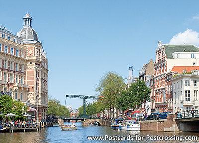 AnsichtkaartGrachten van Amsterdam - postcard Canals of Amsterdam - postkarte Kanäle von Amsterdam - UNESCO WHS