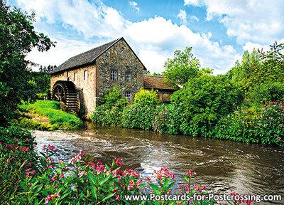 Ansichtkaart Volmolen Epen, PostcardwatermillEpen, Postkarte WassermühleEpen