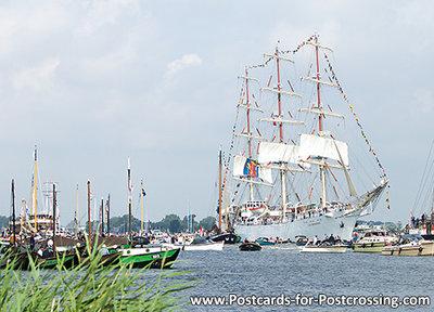 ansichtkaart Sail Amsterdam - Dar Mlodziezy (0276)