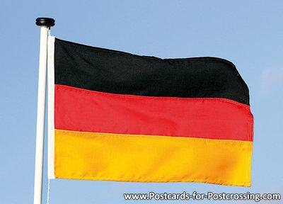 Postkarten Deutschland - Postkarte / Ansichtskarte Flagge der Bundesrepublik Deutschland