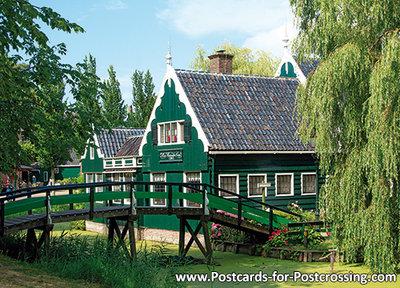 ansichtkaart de Zaanse Schans kaart, postcard, Postkarte