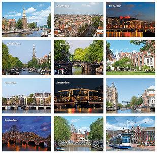 Ansichtkaarten Amsterdam - Amsterdam postcard set , Amsterdam Postkarten set