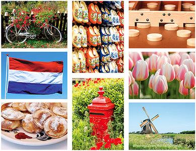 Postkaarten / ansichtkaarten set typisch Nederlands