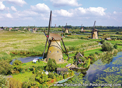 V - molens van Kinderdijk, UNESCO WHS