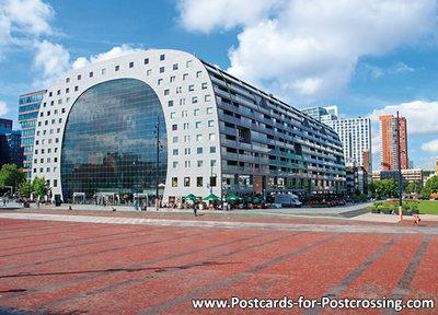 Ansichtkaart Rotterdam Markthal - Postkaart Rotterdam - Ansichtkaarten Rotterdam