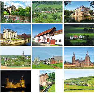 Limburg ansichtkaarten set