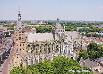 ansichtkaart sint janskathedraal in 's-hertogenbosch