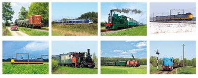 kaartenset van treinen