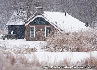 Boerderij in de sneeuw (0433)