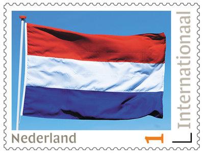 Postzegels voor Postcrossing - Nederlandse vlag