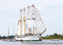Ansichtkaart Sail Amsterdam - Esmeralda